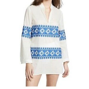 NWT Tory Burch Stephanie embroidered tunic XS